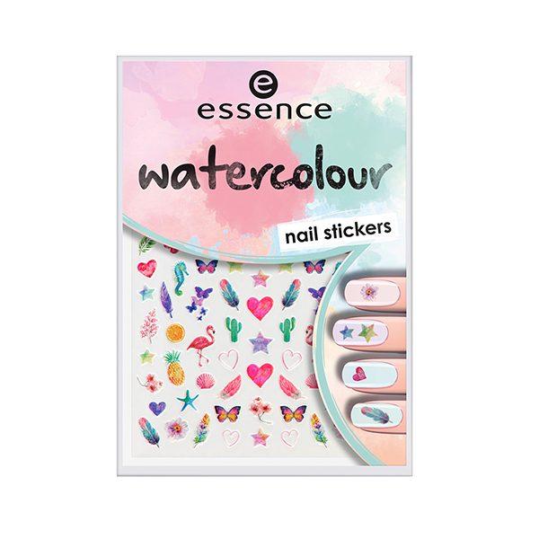 استیکر ناخن اسنس essence   water colour